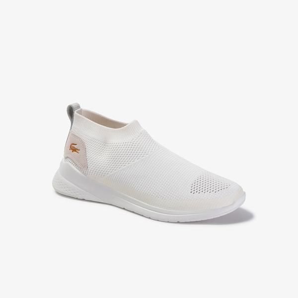 Lacoste Lt Fit Sock 120 2 Sma Erkek Beyaz Ayakkabı