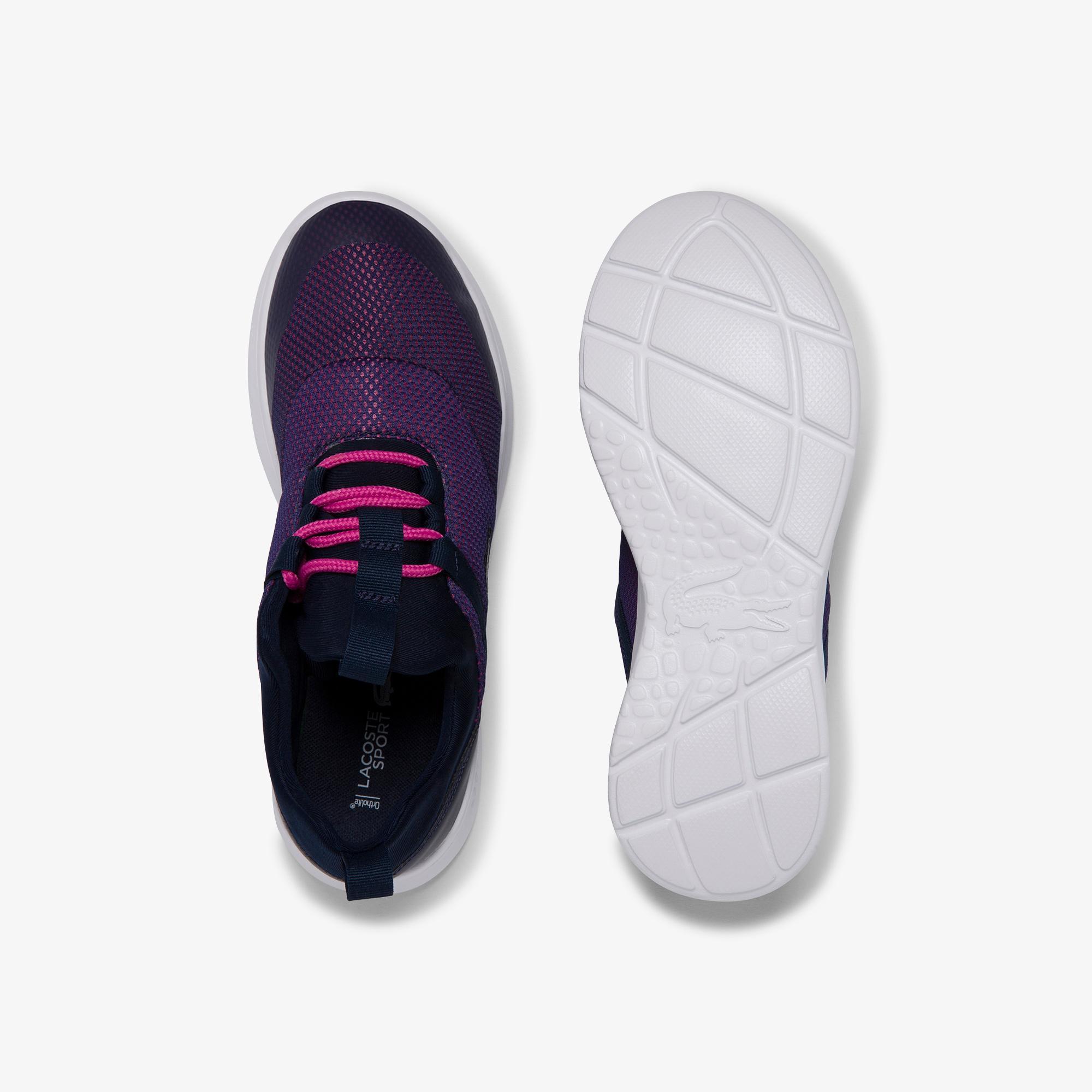 Lacoste Lt Dash 120 1 Suj Kadın Lacivert - Pembe Ayakkabı