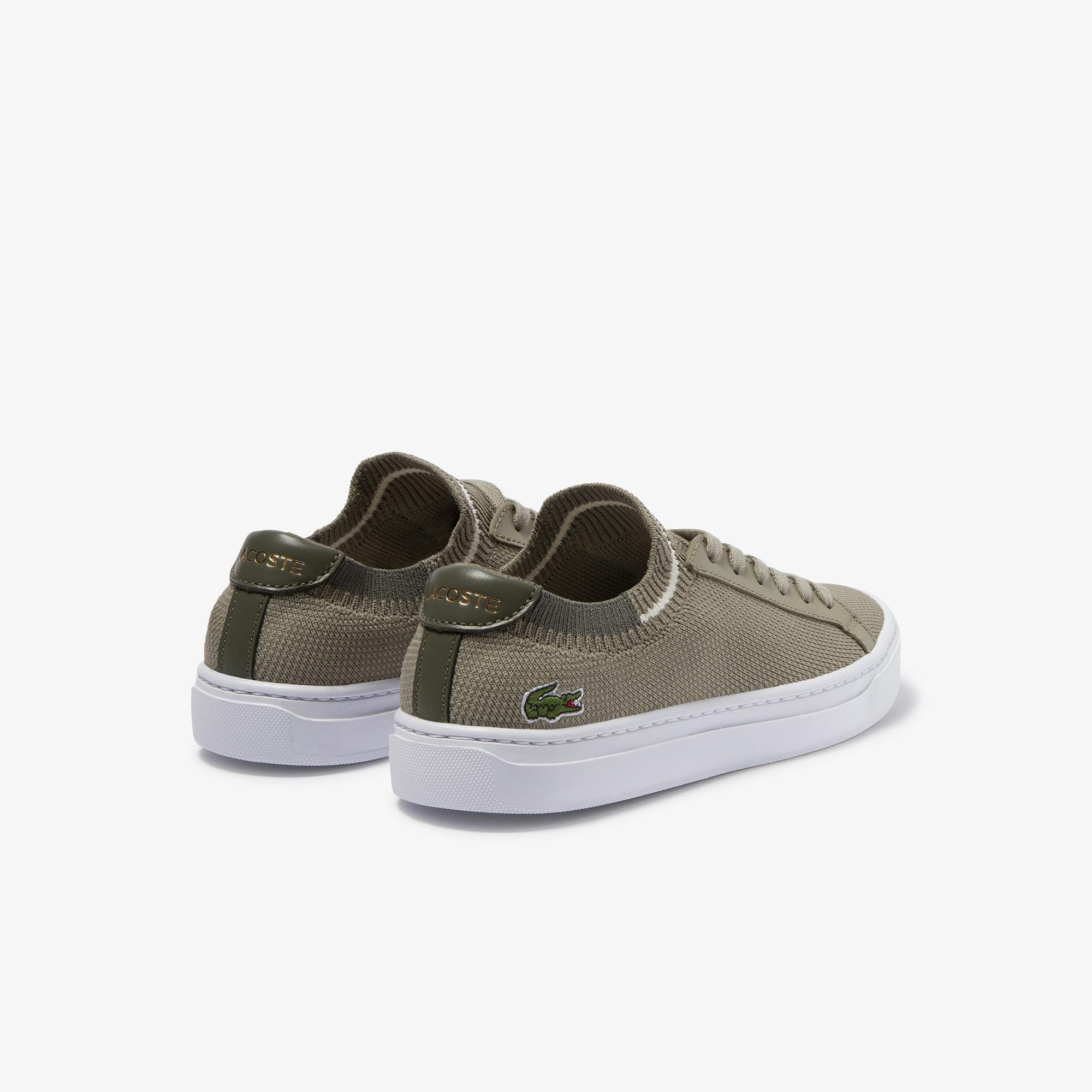 Lacoste La Piquee 120 2 Cfa Kadın Haki Sneaker