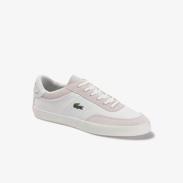 Lacoste Court-Master 220 1 Cma Erkek Beyaz Ayakkabı