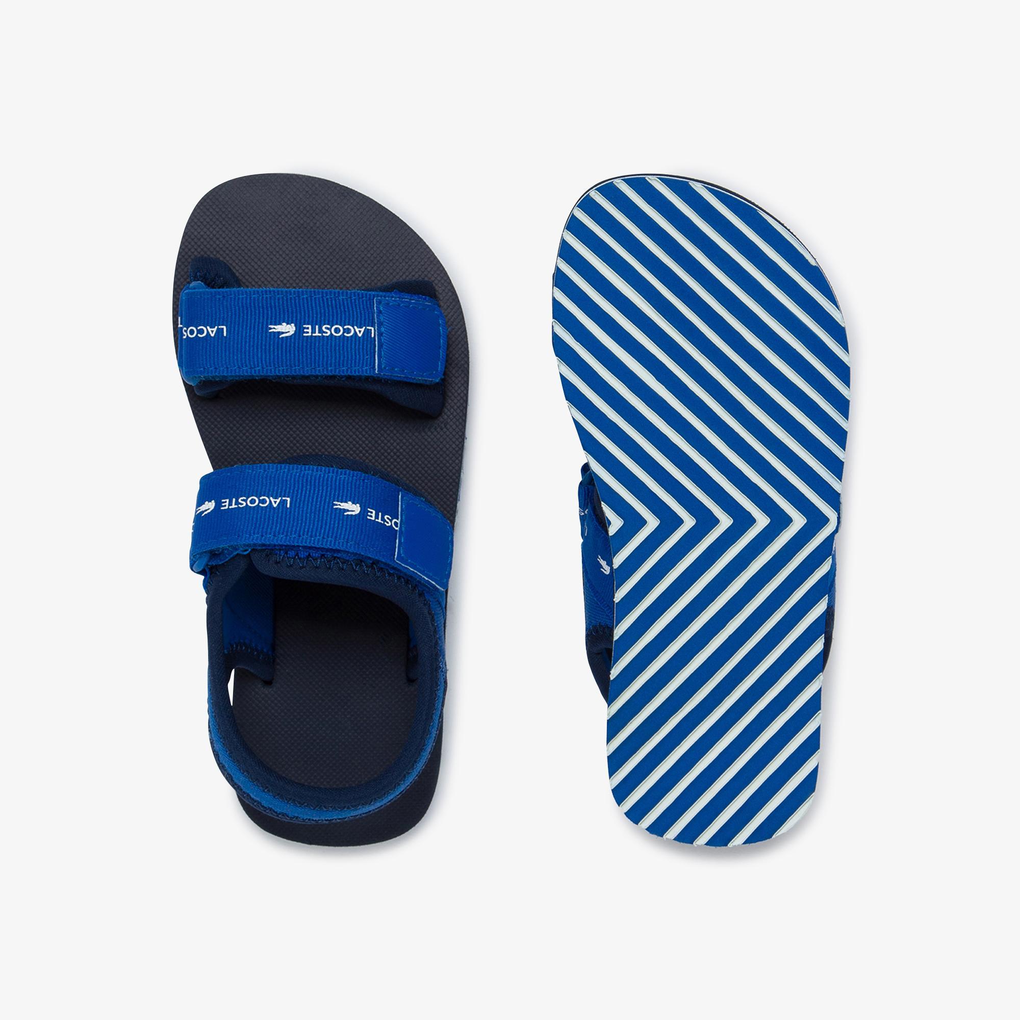 Lacoste Sol 220 1 Cuc Çocuk Mavi Sandalet
