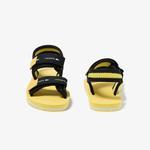Lacoste Sol 220 1 Cuc Çocuk Sarı Sandalet