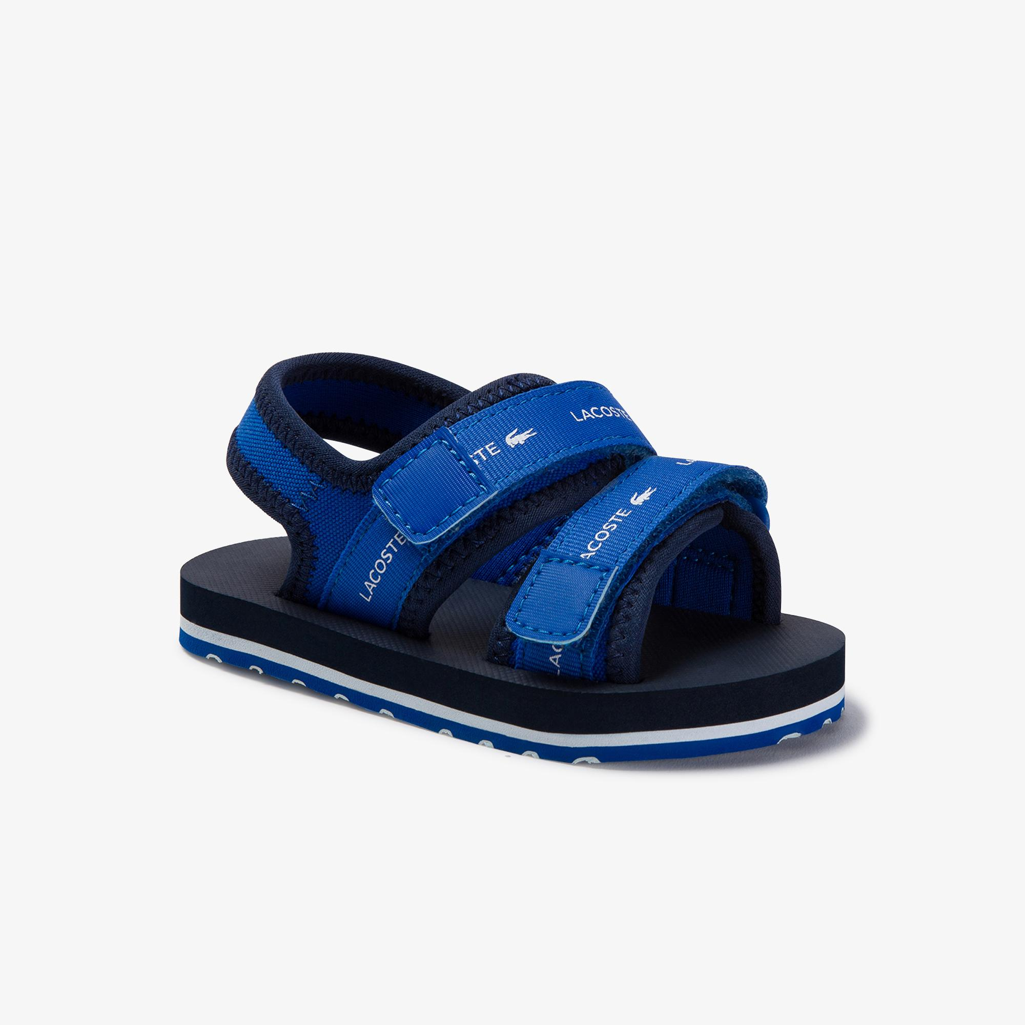 Lacoste Sol 220 1 Cui Çocuk Mavi Sandalet