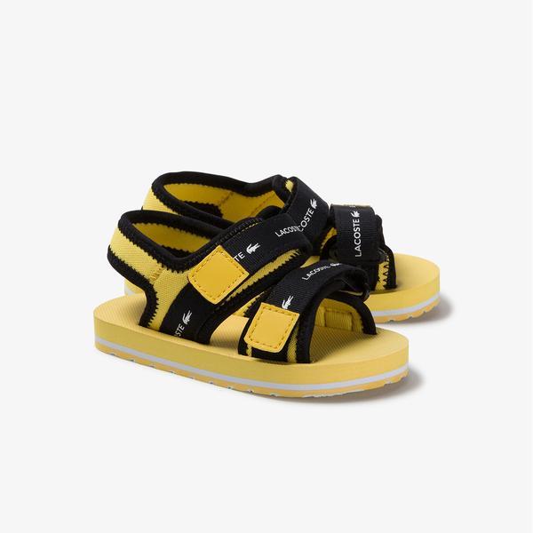 Lacoste Sol 220 1 Cui Çocuk Sarı Sandalet