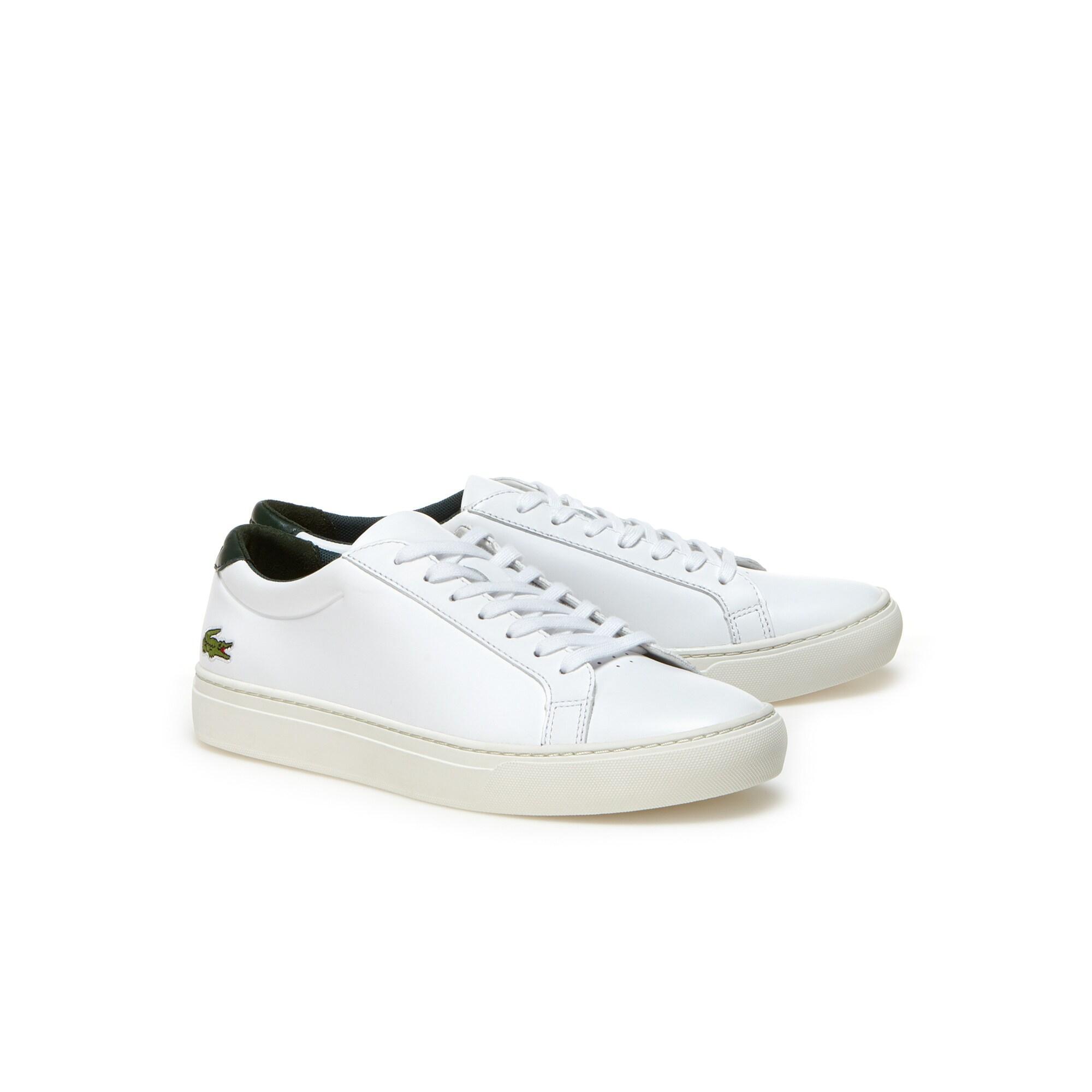Lacoste L.12.12 Erkek Beyaz Yeşil Sneaker