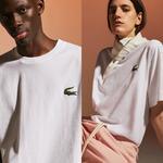 Lacoste Fashion Show Unisex Beyaz T-Shirt