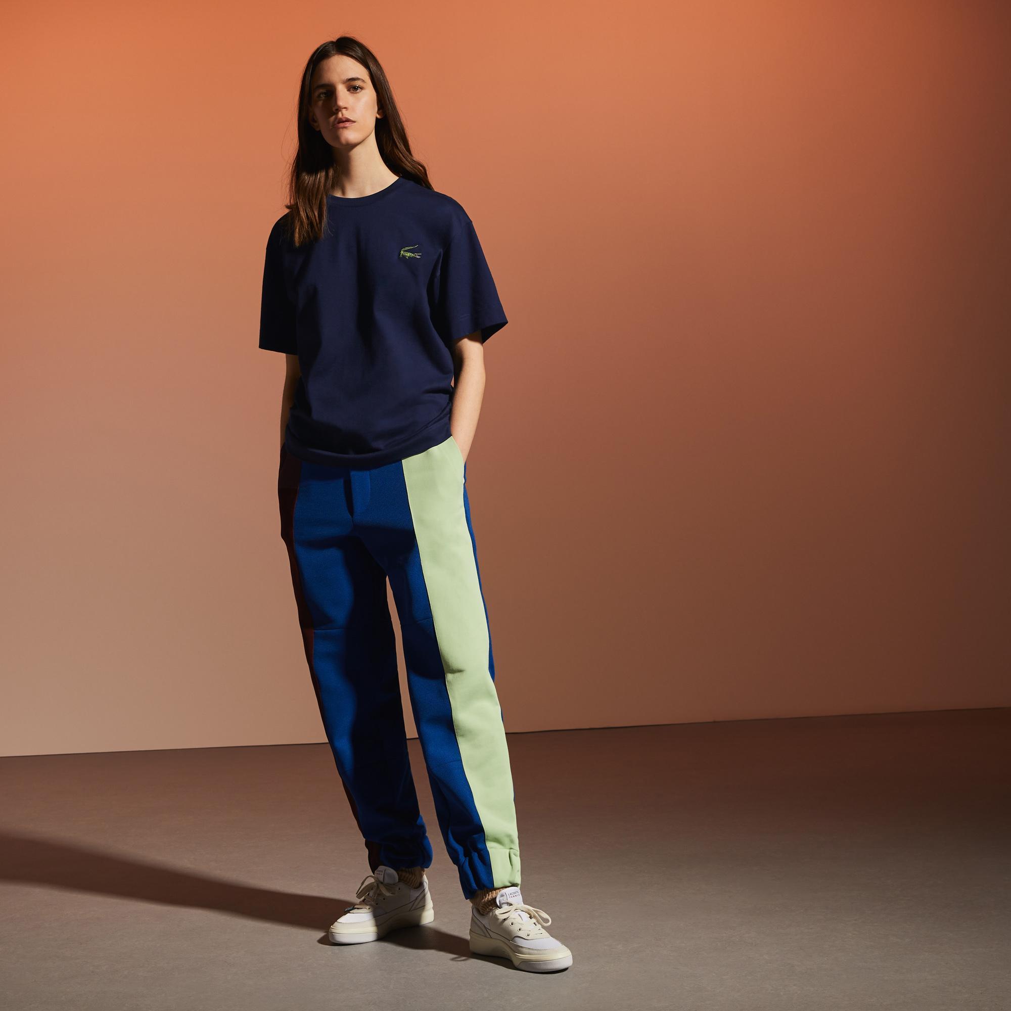 Lacoste Fashion Show Unisex Lacivert T-Shirt