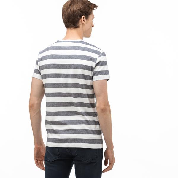 Lacoste Erkek Regular Fit Lacivert T-Shirt