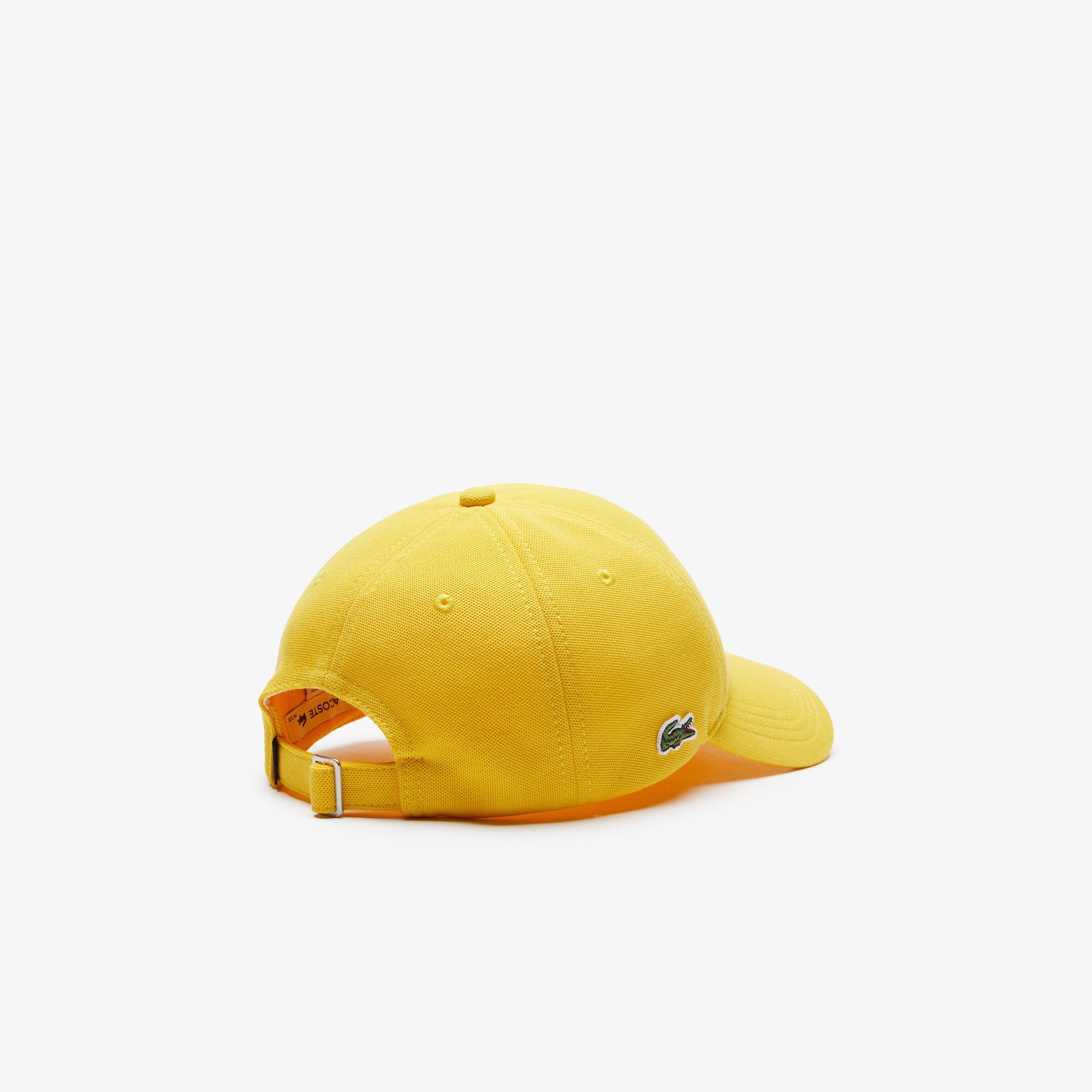 Lacoste Unisex Sarı Şapka