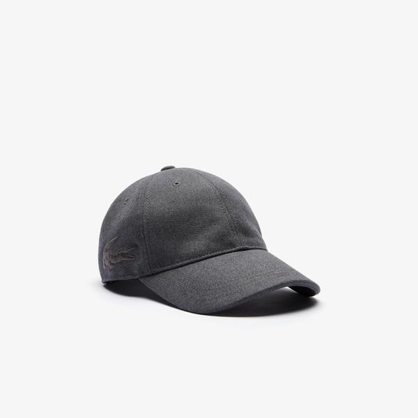 Lacoste Unisex Gri Şapka