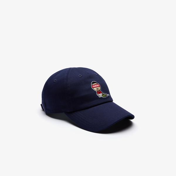 Lacoste Novak Djokovic X YSY Unisex Lacivert Şapka