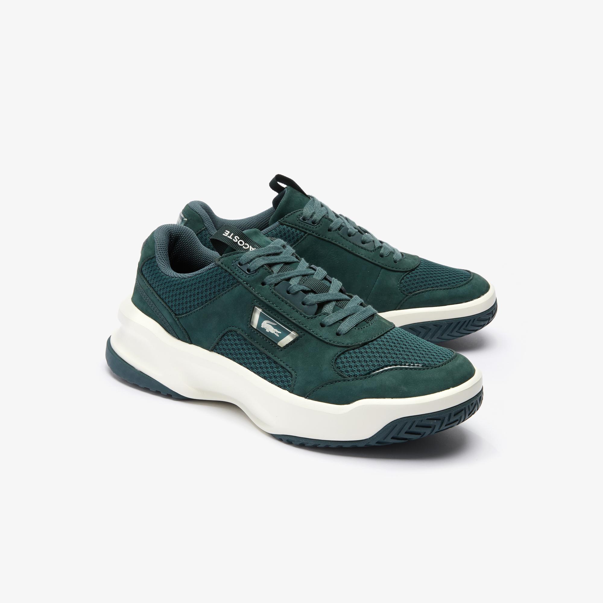 Lacoste Ace Lift 0120 3 Sma Erkek Koyu Yeşil - Beyaz Sneaker