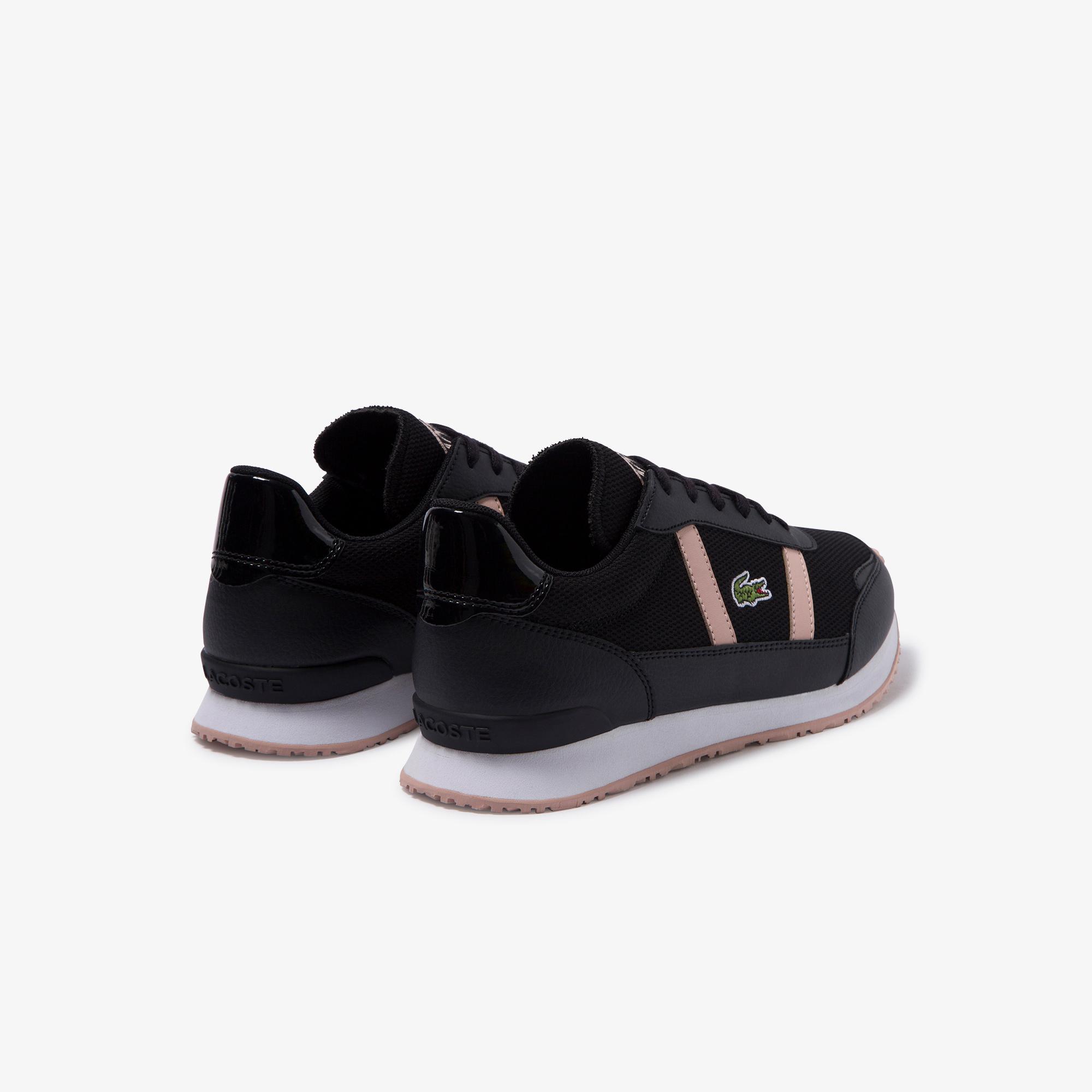 Lacoste Partner 220 2 Sfa Kadın Siyah - Pudra Sneaker