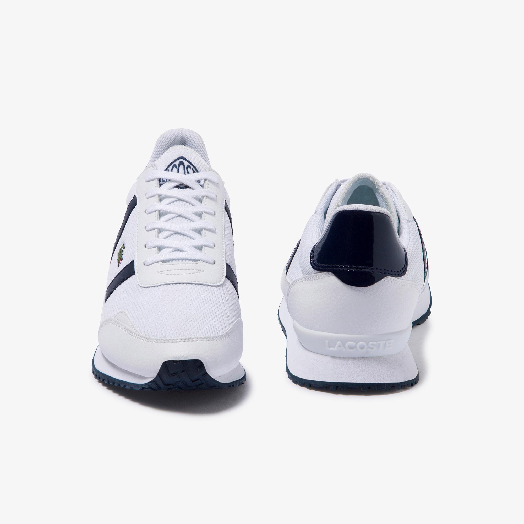 Lacoste Partner 220 2 Sfa Kadın Beyaz - Lacivert Sneaker