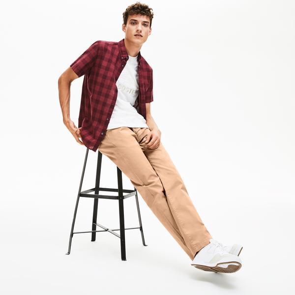 Lacoste Erkek Regular Fit Kahverengi Pantolon