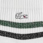 Lacoste Unisex Çizgili Kısa Yeşil Çorap