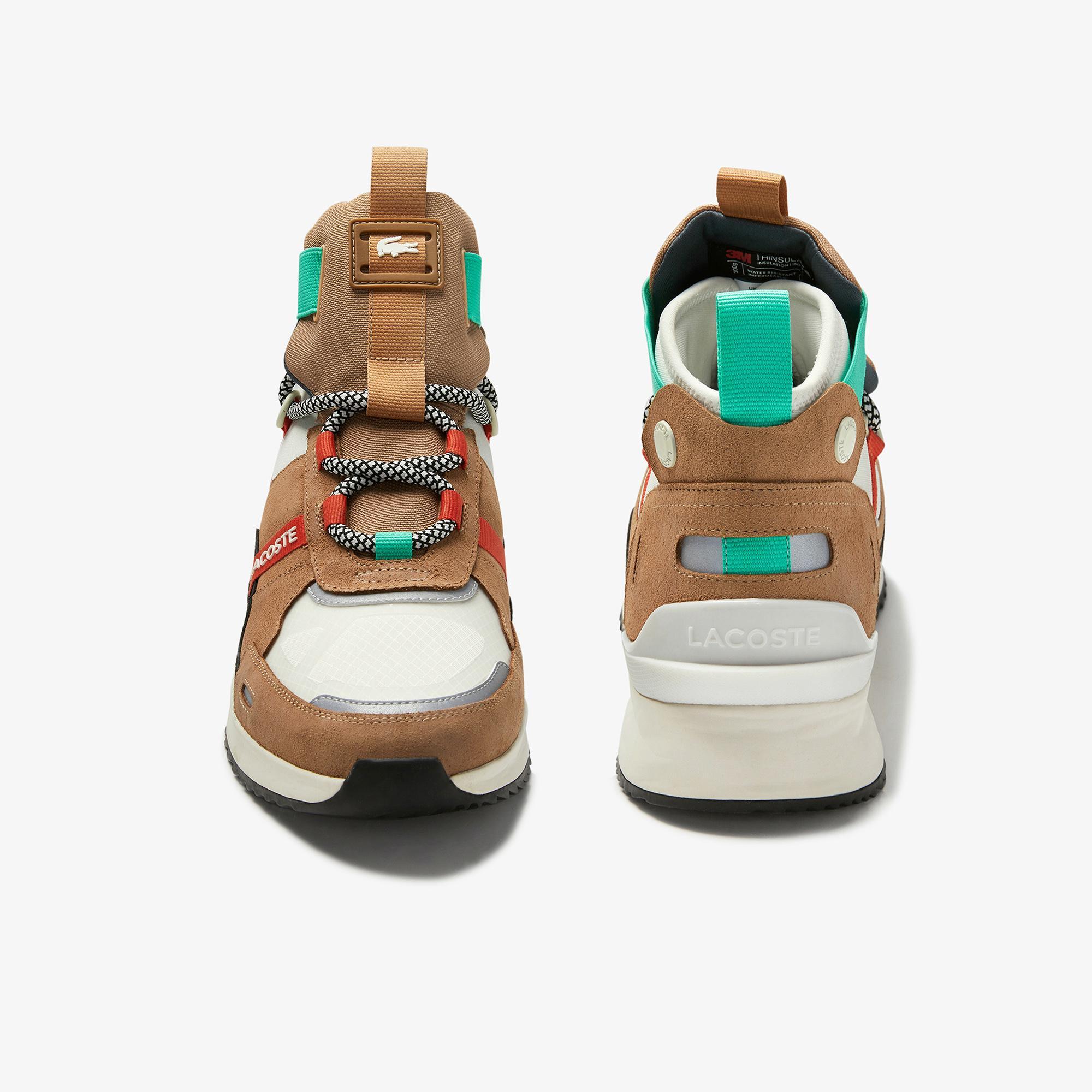 Lacoste Run Breaker 0320 1 Sfa Kadın Açık Kahverengi Bot