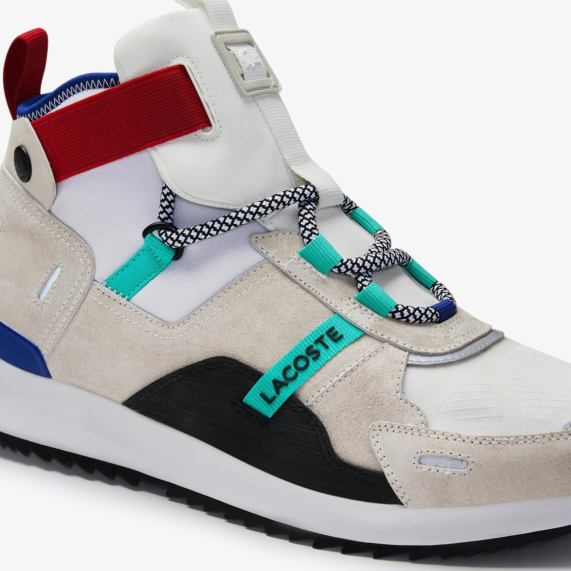 Lacoste Run Breaker 0320 1 Sfa Kadın Beyaz - Mavi Bot