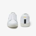 Lacoste Carnaby Evo 0120 2 Sma Erkek Deri Beyaz - Siyah Sneaker