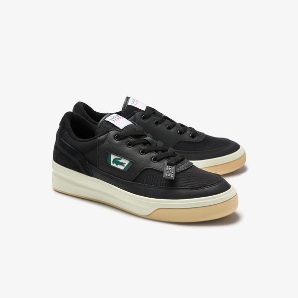 Lacoste G80 0120 1 Sma Erkek Deri Siyah - Beyaz Sneaker