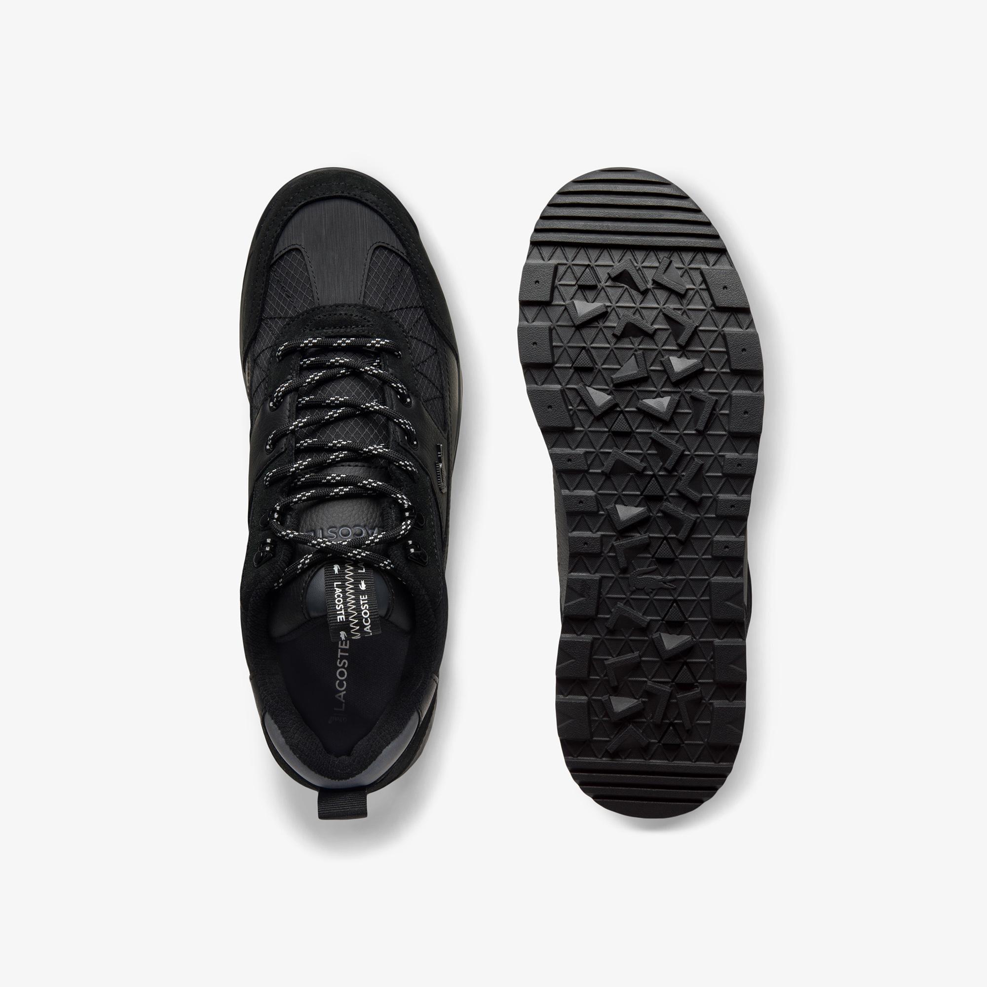 Lacoste Urban Breaker Lo 03201Cma Erkek Deri Siyah Sneaker