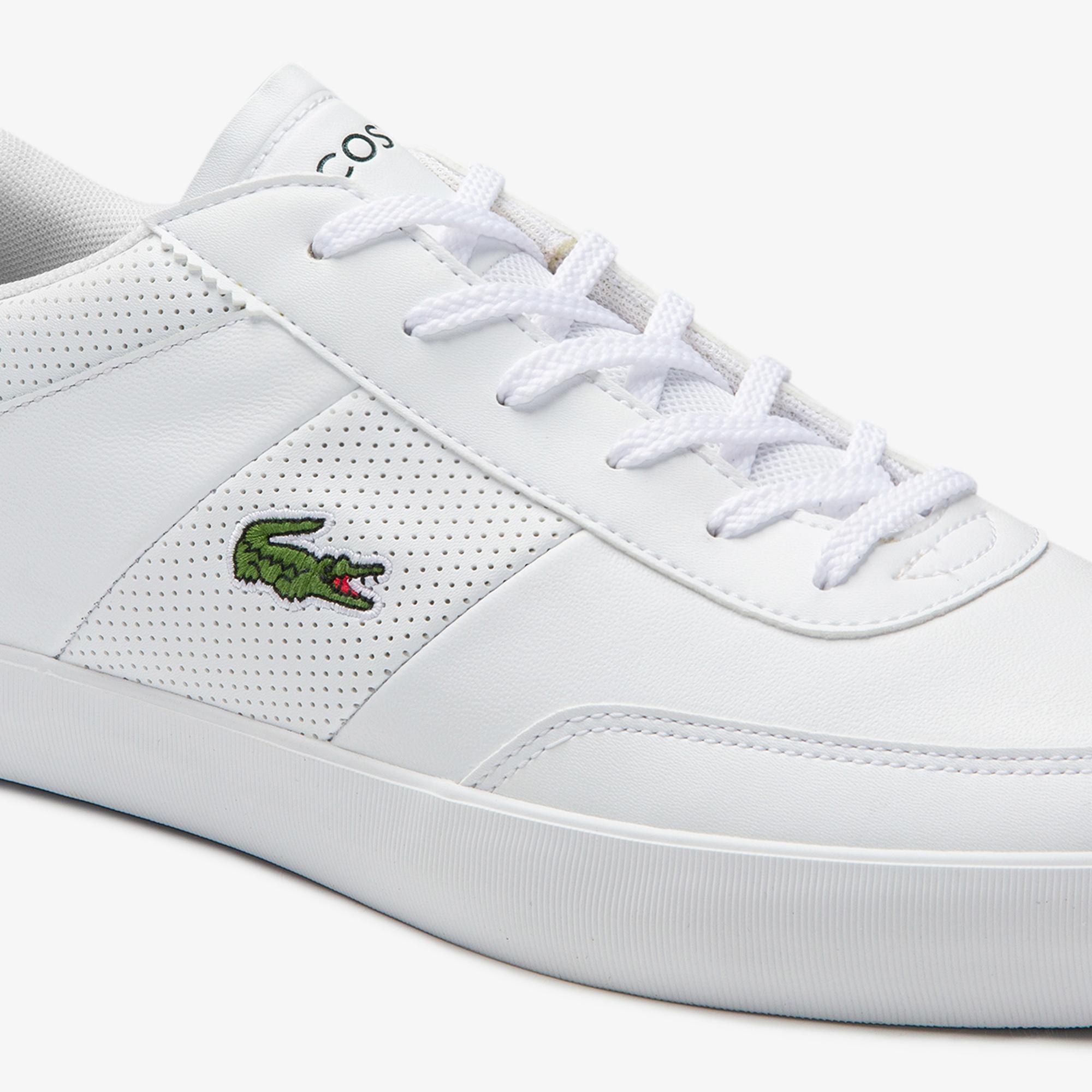 Lacoste Court-Master 0120 1 Cma Erkek Deri Beyaz Sneaker