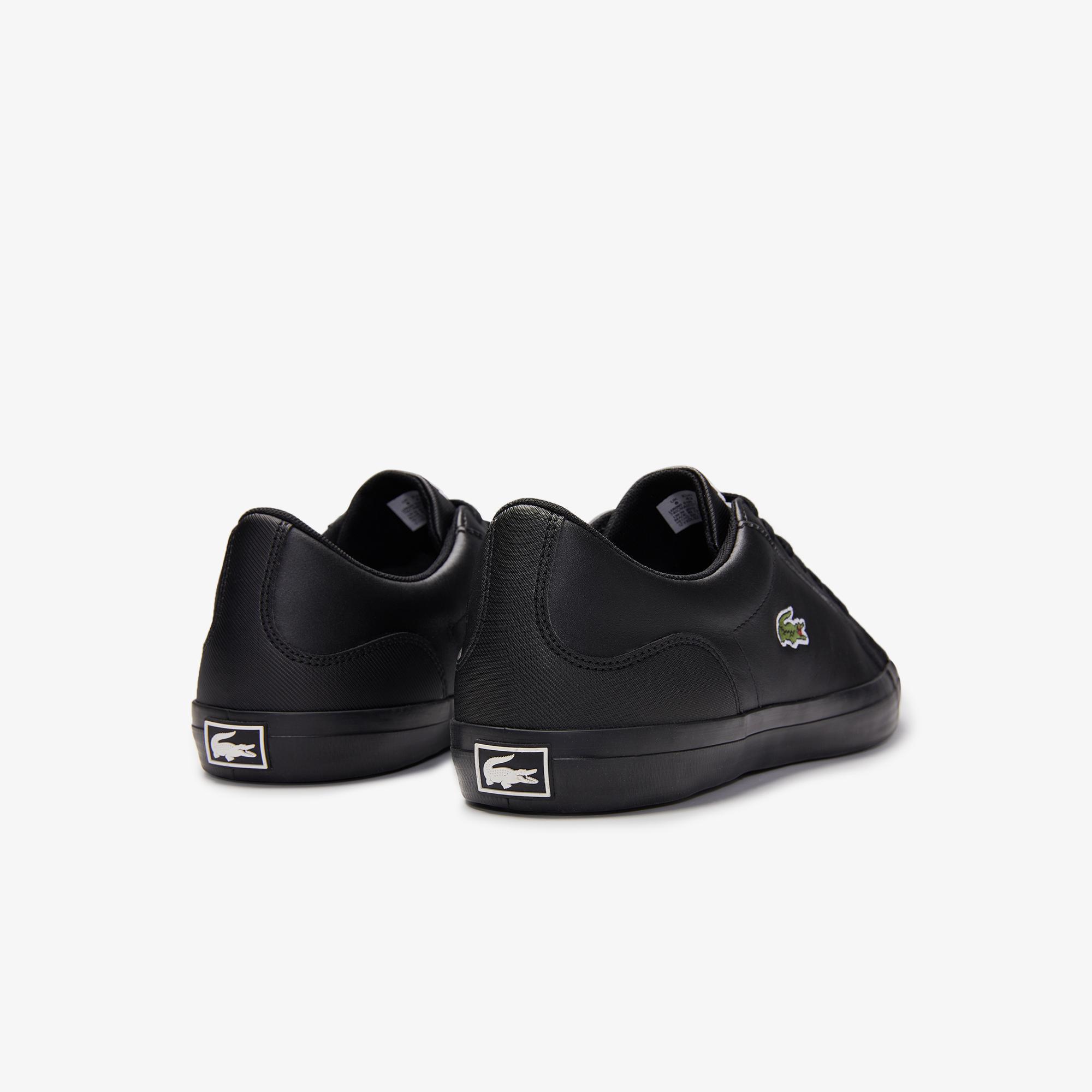 Lacoste Lerond 0120 1 Cma Erkek Deri Siyah Casual Ayakkabı
