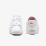 Lacoste Carnaby Evo 0120 5 Sfa Kadın Deri Beyaz Sneaker