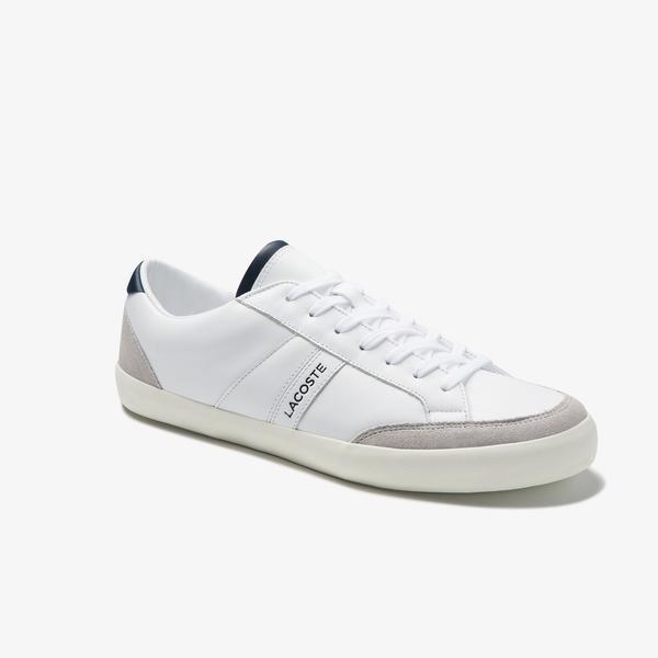 Lacoste Coupole 0120 1 Cma Erkek Deri Beyaz Casual Ayakkabı