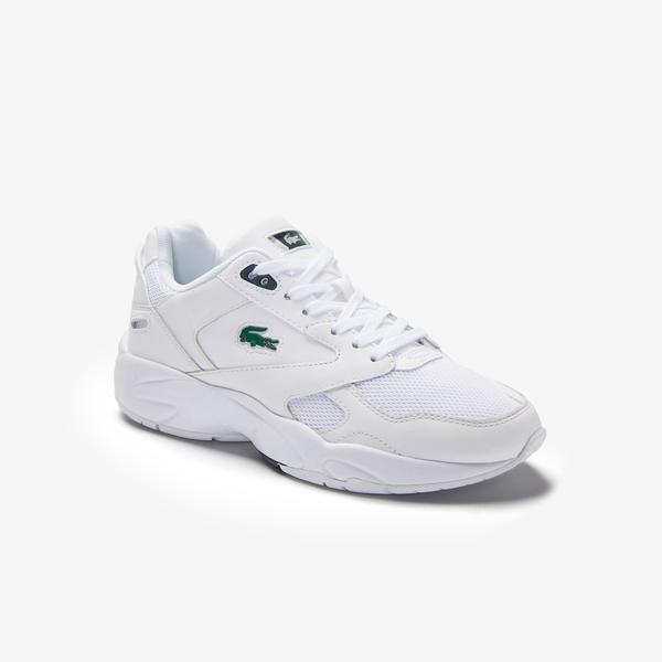 Lacoste Storm 96 Lo 0120 3 Sfa Kadın Beyaz - Koyu Yeşil Sneaker