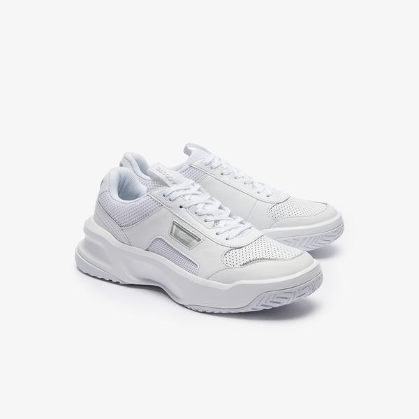 Lacoste Ace Lift 0320 2 Sma Erkek Deri Beyaz Sneaker