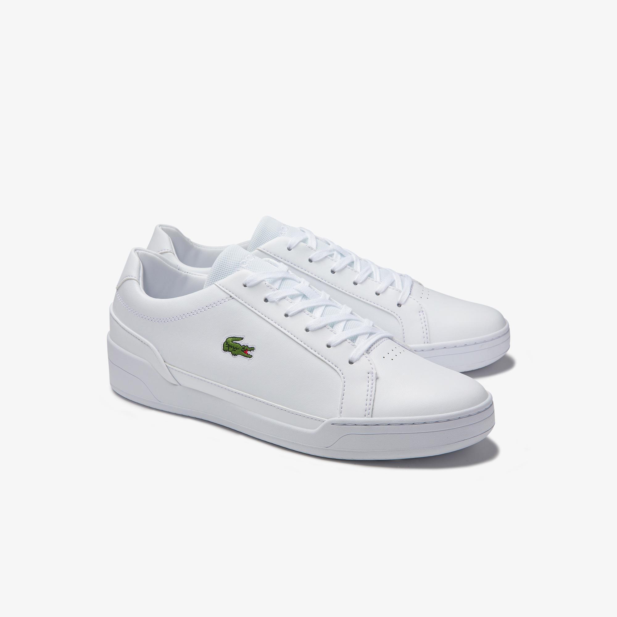 Lacoste Challenge 0120 2 Sma Erkek Deri Beyaz Sneaker
