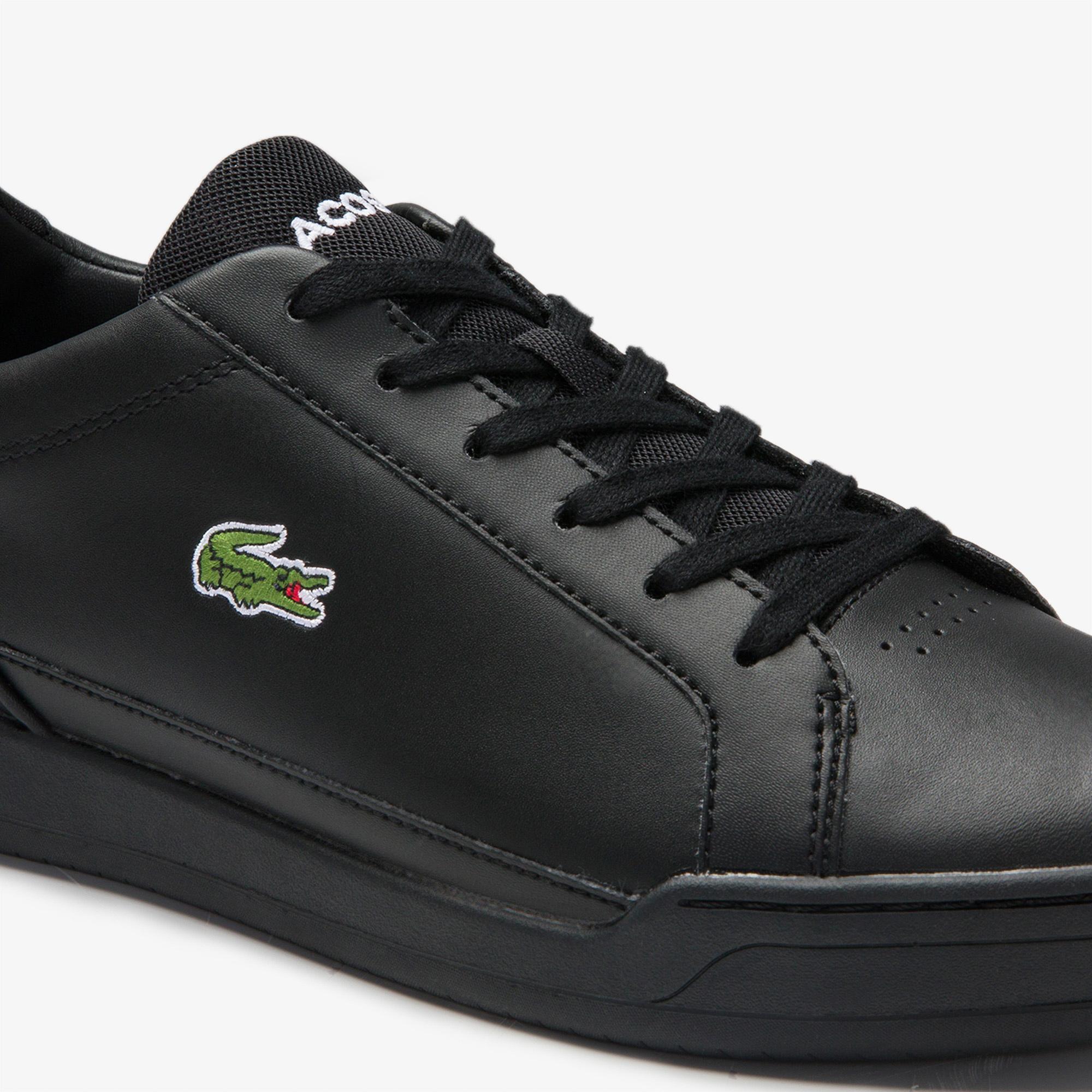 Lacoste Challenge 0120 2 Sma Erkek Deri Siyah Sneaker