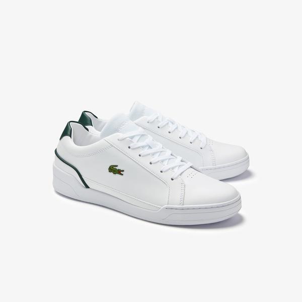 Lacoste Challenge 0120 2 Sma Erkek Deri Beyaz - Yeşil Sneaker