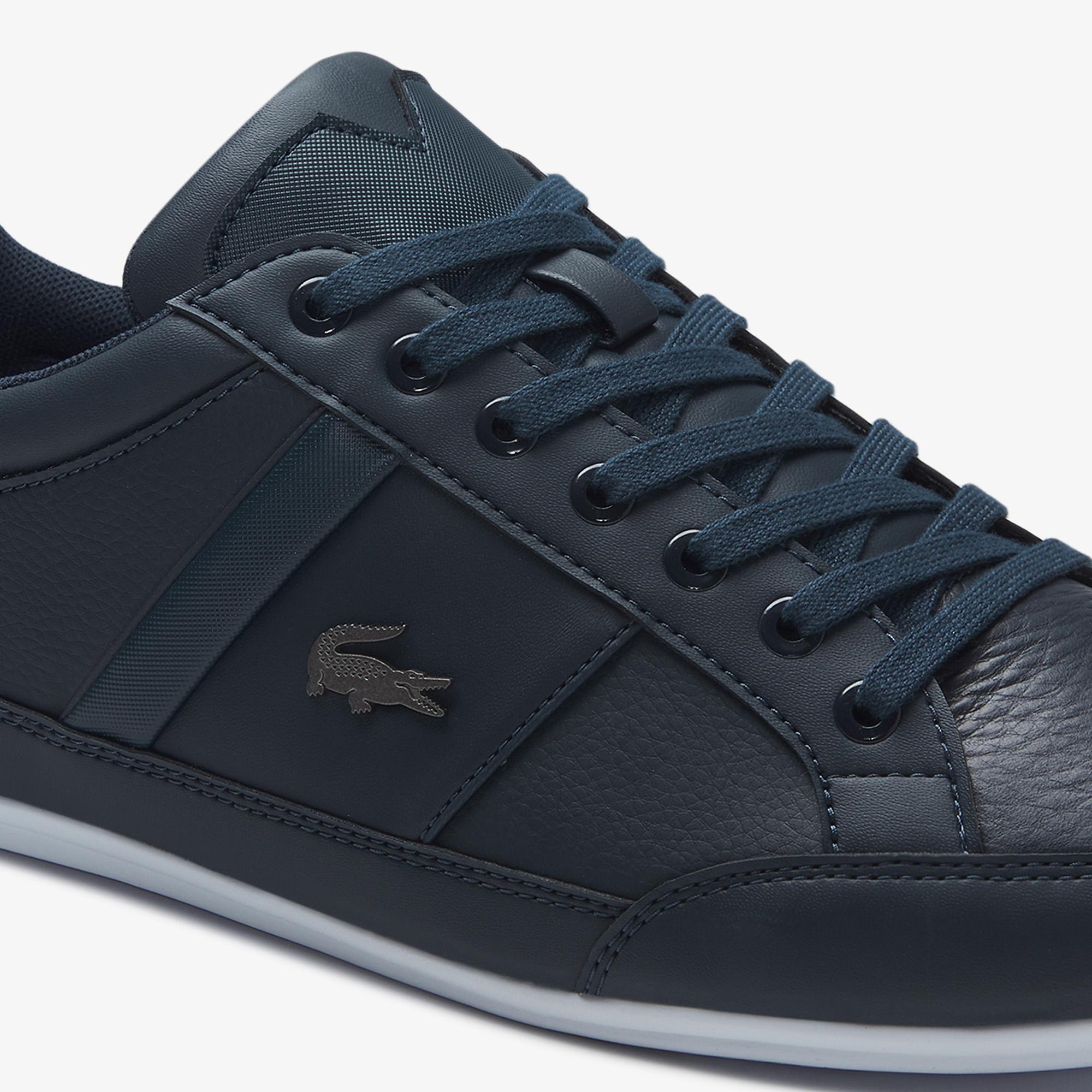 Lacoste Chaymon BL 1 Erkek Lacivert Casual Ayakkabı