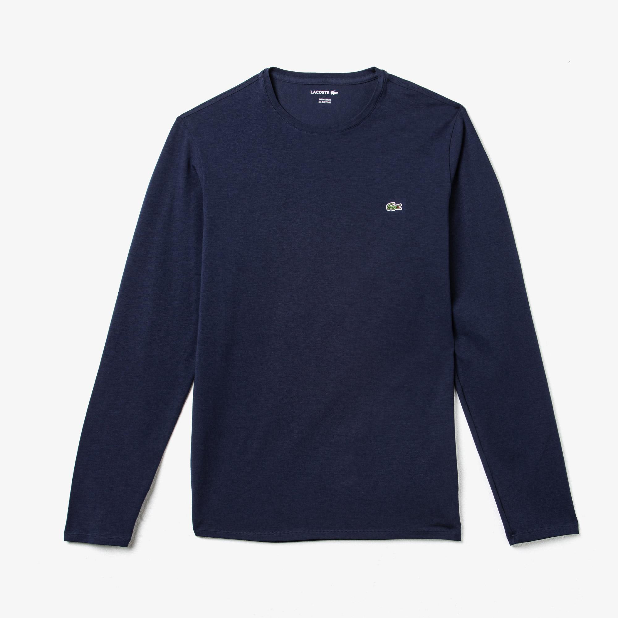 Lacoste Erkek Uzun Kollu Lacivert T-Shirt