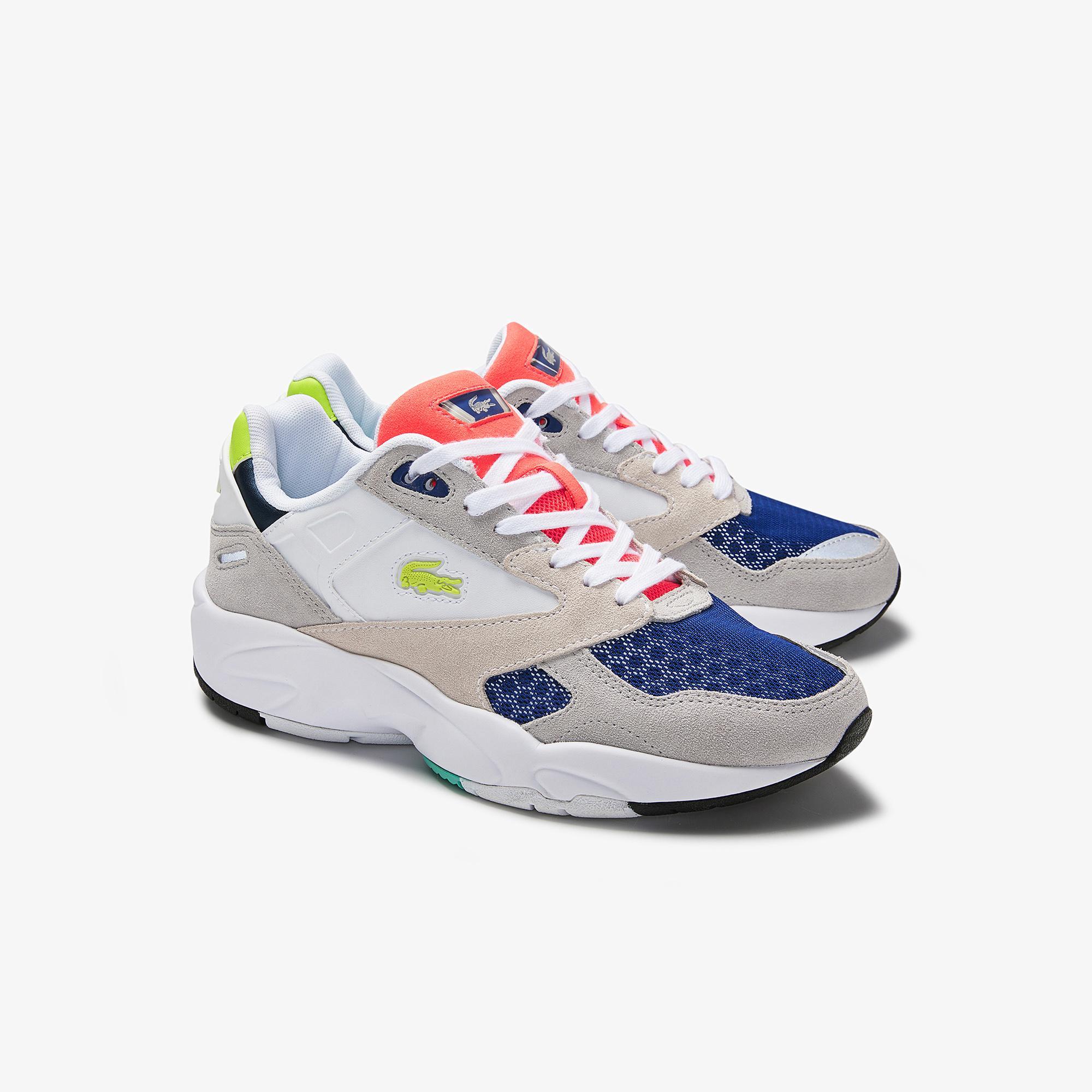 Lacoste Storm 96 Lo 0120 1 Sfa Kadın Renkli Sneaker