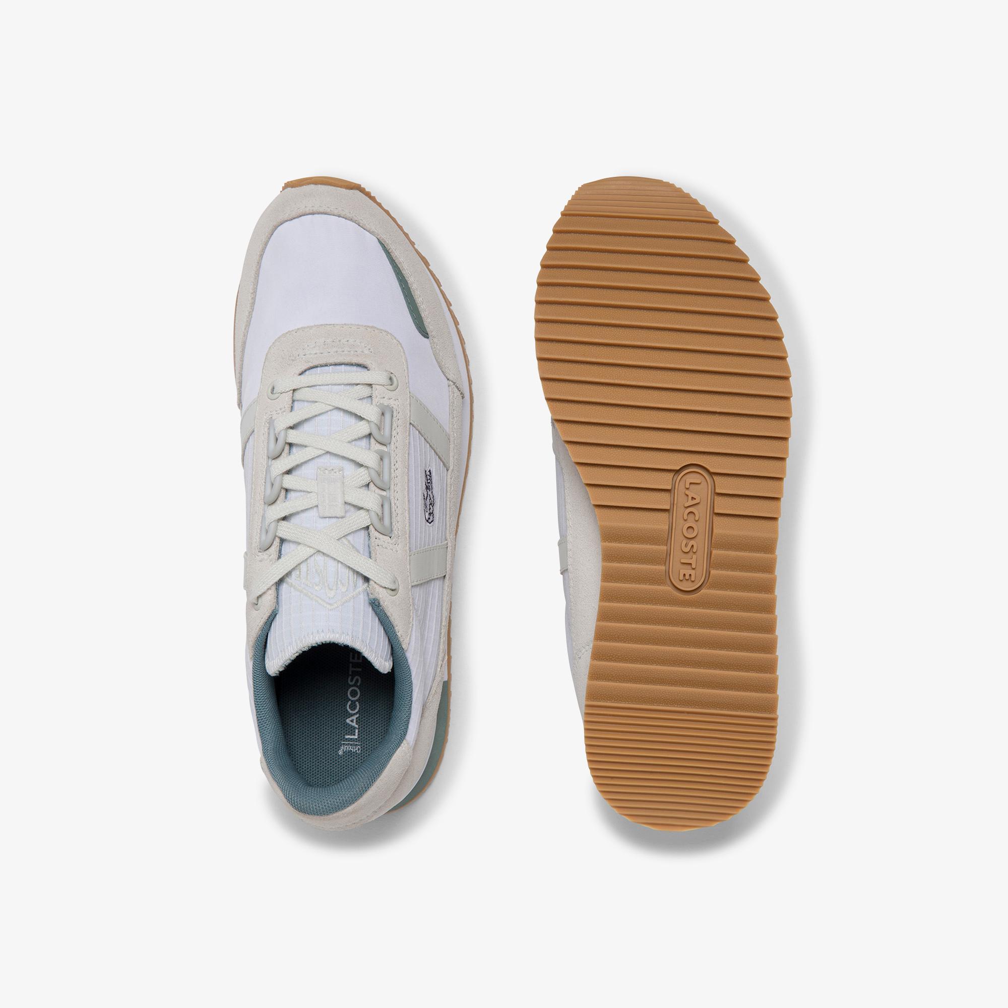 Lacoste Partner Retro 120 2 Sfa Kadın Bej - Beyaz Sneaker