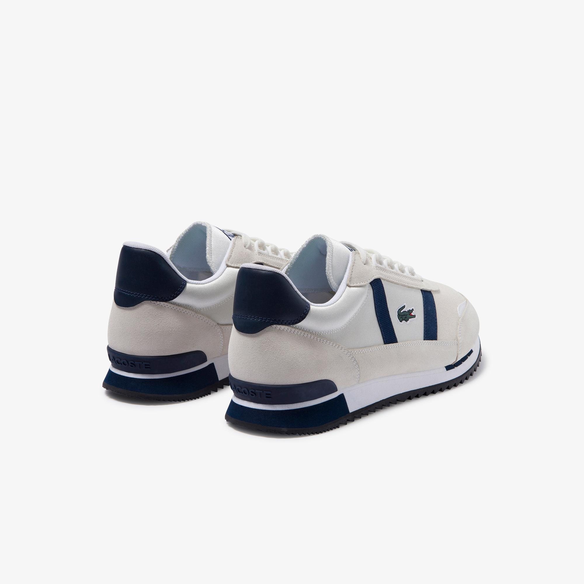 Lacoste Partner Retro 120 1 Sma Erkek Beyaz - Lacivert Sneaker