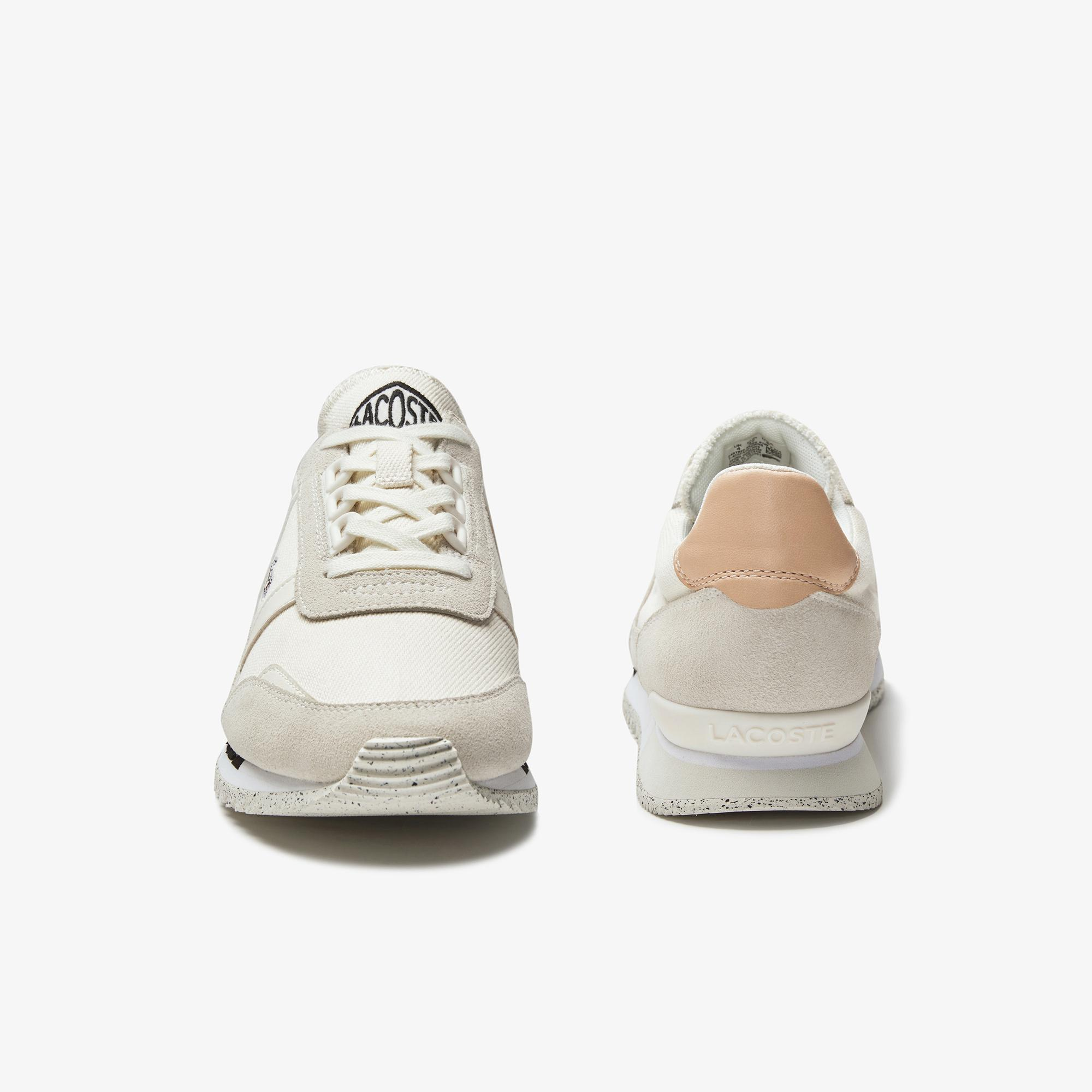 Lacoste Partner Retro 0120 3 Sfa Kadın Açık Bej Sneaker