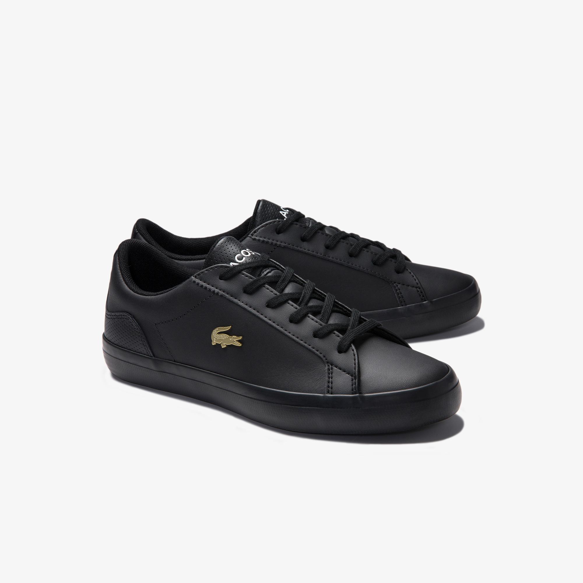 Lacoste Lerond 0120 2 Cfa Kadın Deri Siyah Casual Ayakkabı