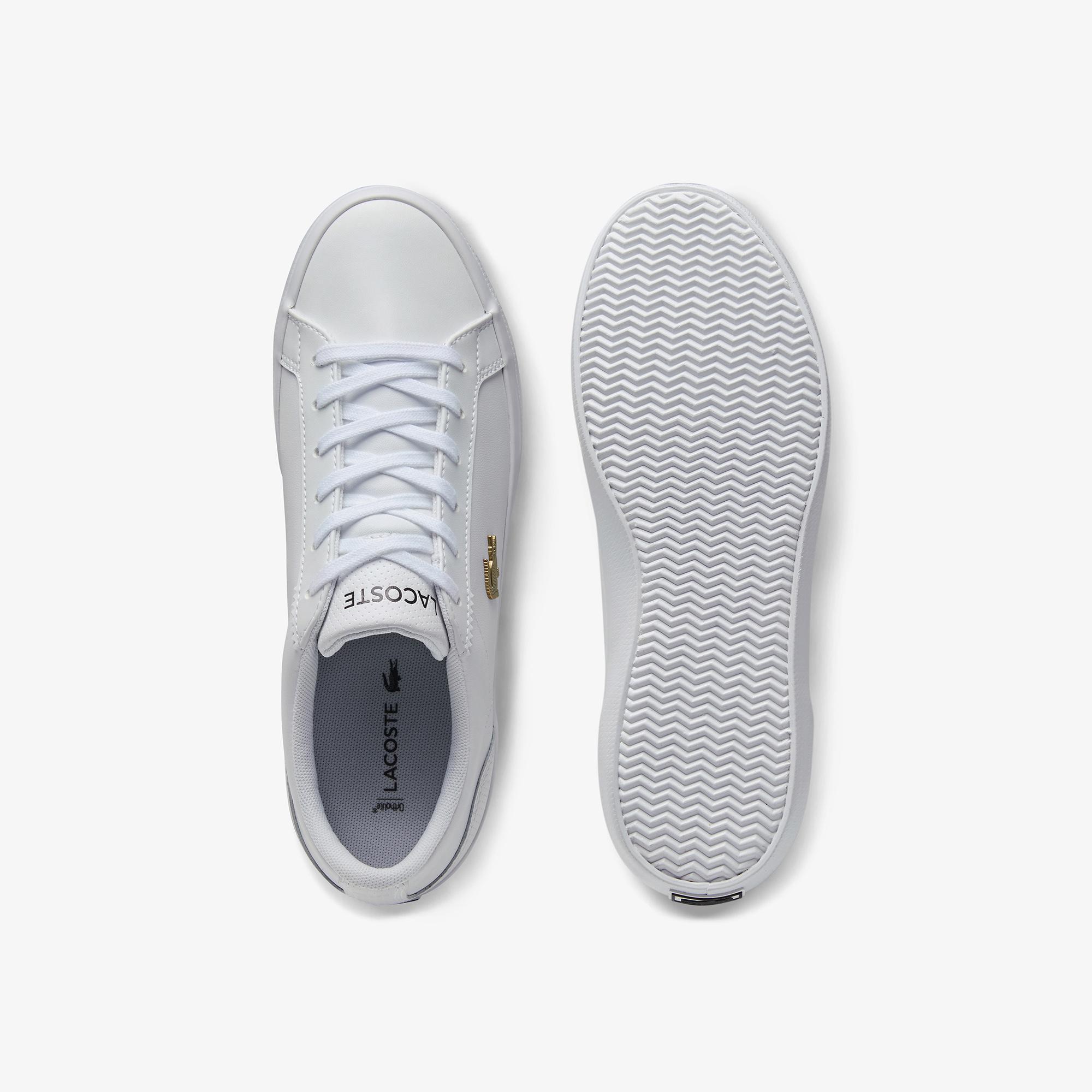 Lacoste Lerond 0120 2 Cfa Kadın Deri Beyaz Casual Ayakkabı