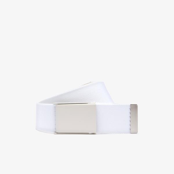 Lacoste Fashion Show Unisex Beyaz - Bej Kemer