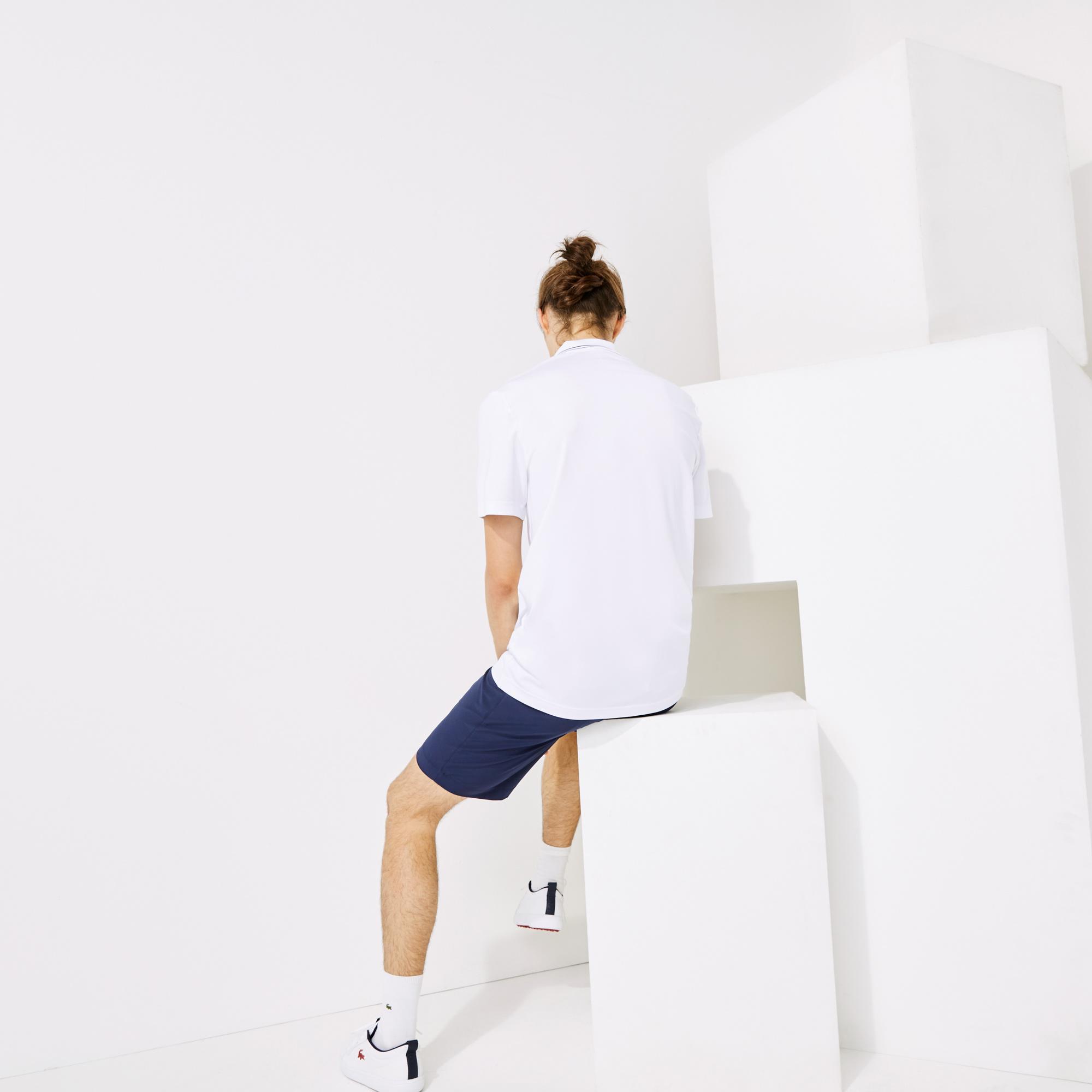 Lacoste Sport Erkek Beyaz Polo