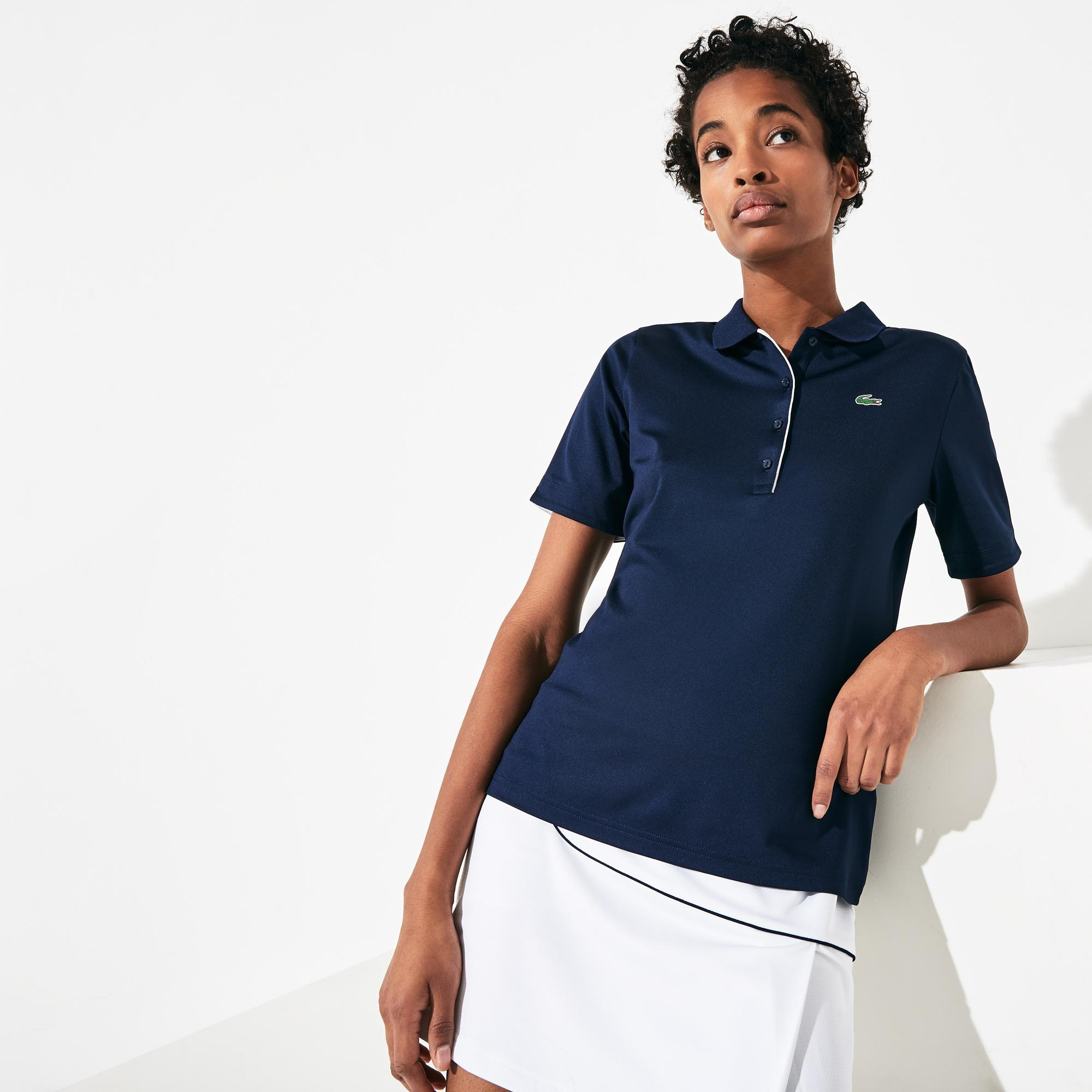 Lacoste Women's Sport Breathable Stretch Golf Polo Shirt