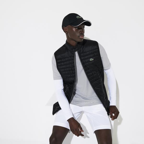 Lacoste Sport Erkek Siyah Yelek