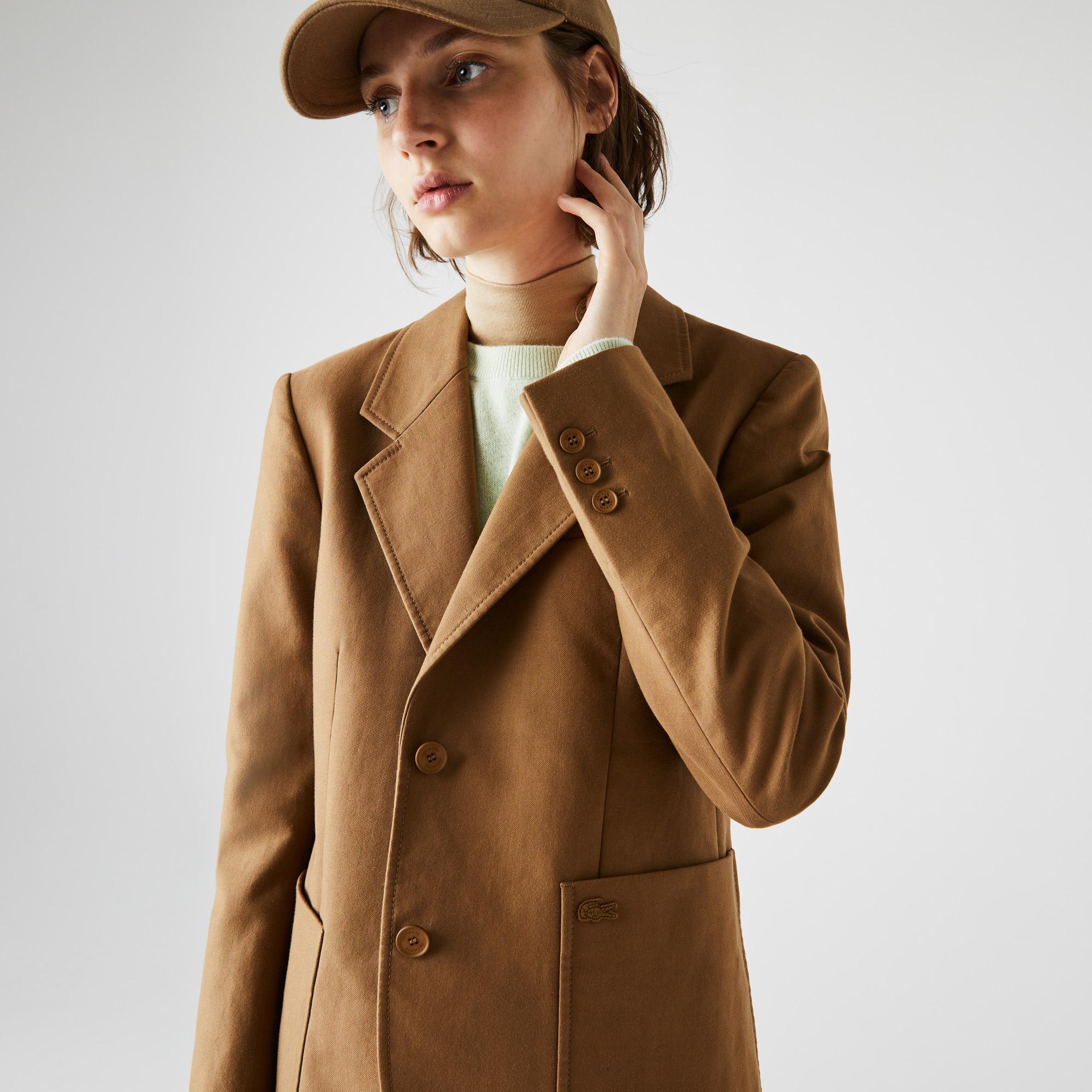 Lacoste Kadın Kahverengi Ceket