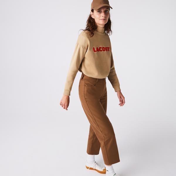 Lacoste Kadın Kahverengi Pantolon