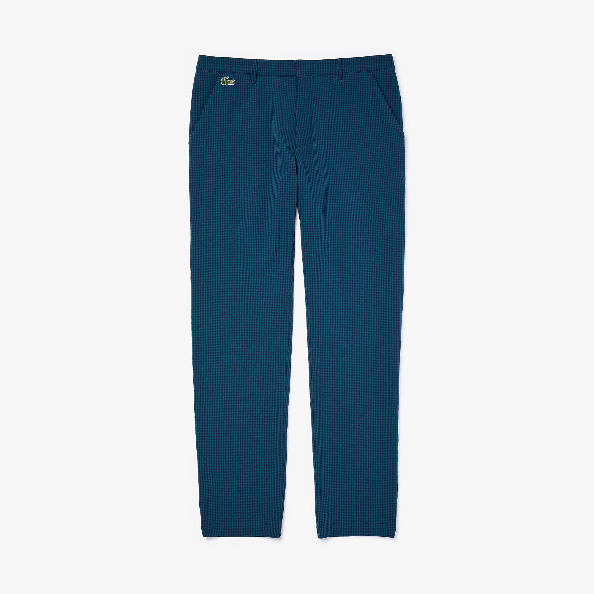 Lacoste Sport Erkek Desenli Lacivert Pantolon