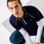 Lacoste Sport Erkek Lacivert - Beyaz Polo